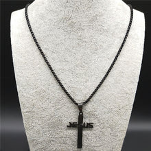 Load image into Gallery viewer, Cross Choker Necklace