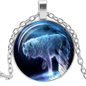 Night Wolf Necklace