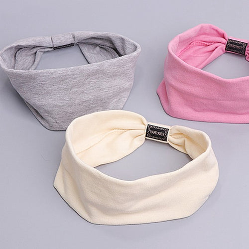 Cotton Casual Face Shield Headband