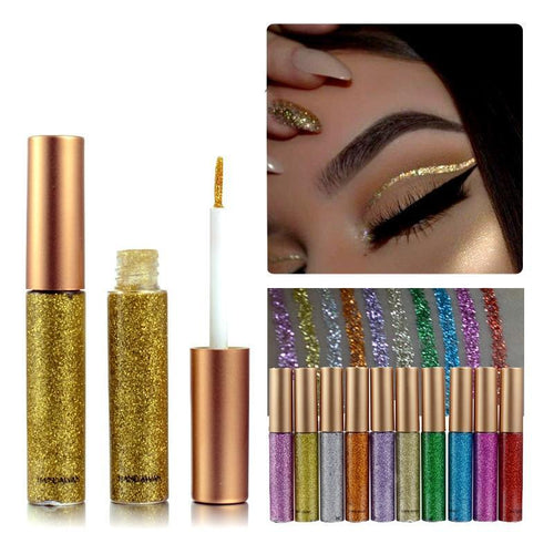 Glitter Eye-shadow Liquid Eyeliner
