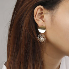 Load image into Gallery viewer, New Golden Fashion Stud Earrings