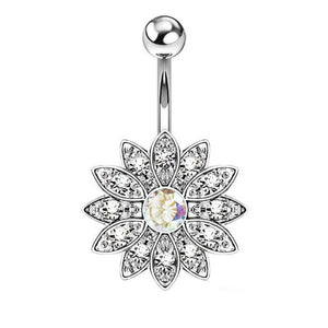 Stainless Steel Belly Button Ring