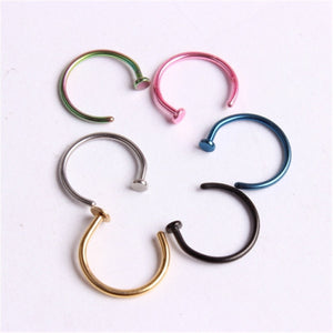 Stainless Steel Body Clip Hoop