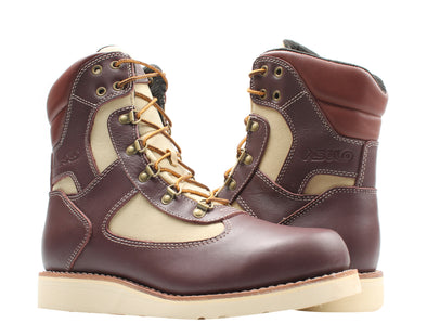 Asolo Welt High Boot Brown/Beige Men's Boots AS-1003