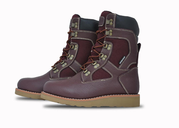 Asolo Mens' Welt High Hiker Boot-Burgundy AS2007M