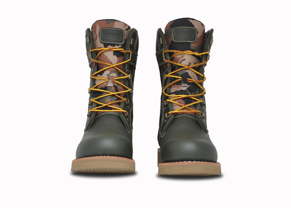 "Asolo Mens' Welt High 9"" Hiker Boot-Olive Green/Camo AS2009M"