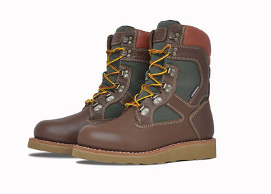"Asolo Mens' Welt High 9"" Hiker Boot-Brown & Green AS1016M"