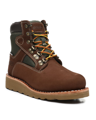 "Asolo Mens' Welt 6"" Hiker Boot_Brown/Green AS-703M"