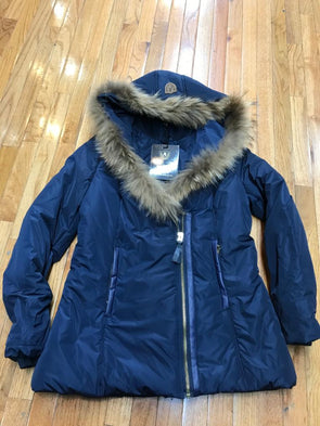 RICH COTTON USA DIVA WOMEN WINTER COAT_NAVY