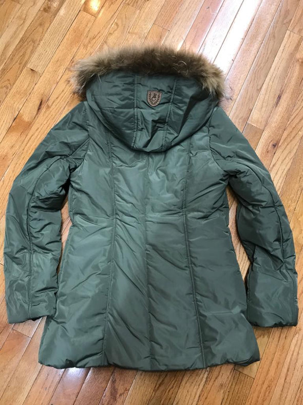 RICH COTTON USA DIVA WOMEN WINTER COAT_OLIVE