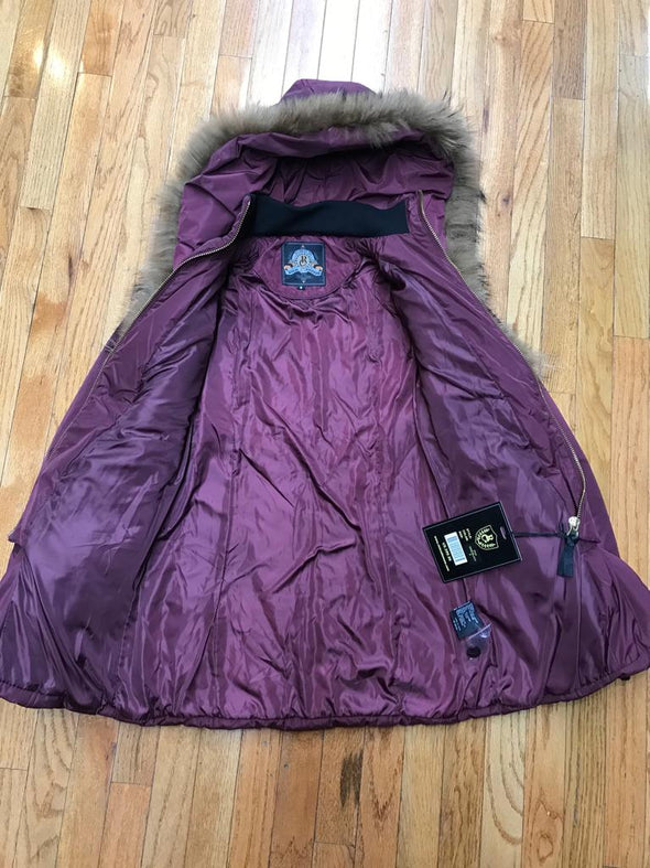 RICH COTTON USA DIVA WOMEN WINTER COAT_WINE