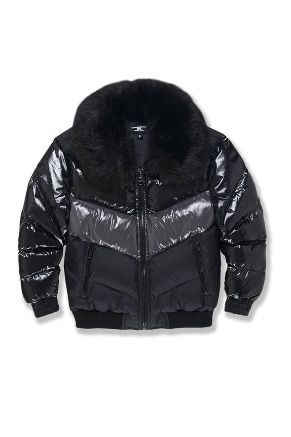 JORDAN CRAIG KIDS SUGAR HILL NYLON PUFFER JACKET_TRIPLE BLACK
