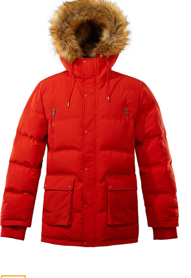 RICH COTTON JOSHUA MEN JACKET-RED