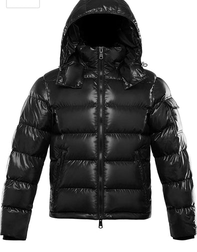 RICH COTTON WOMEN MONA DWON PUFFER BUBBLE JACKET-BLACK