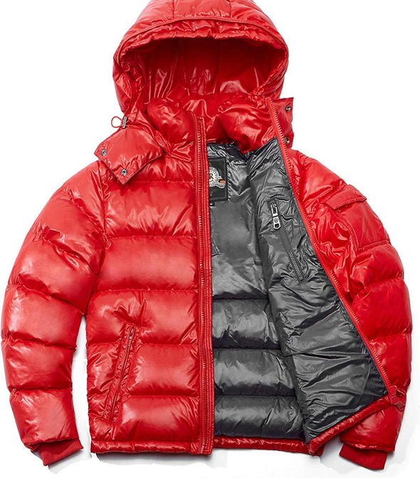 RICH COTTON WOMEN MONA DOWN PUFFER BUBBLE JACKET-RED