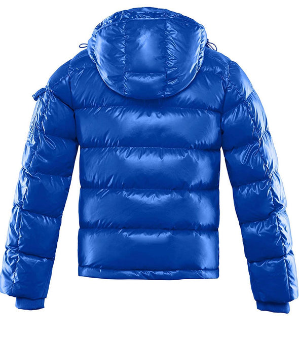 RICH COTTON WOMEN MONA DWON PUFFER BUBBLE JACKET-ROYAL BLUE