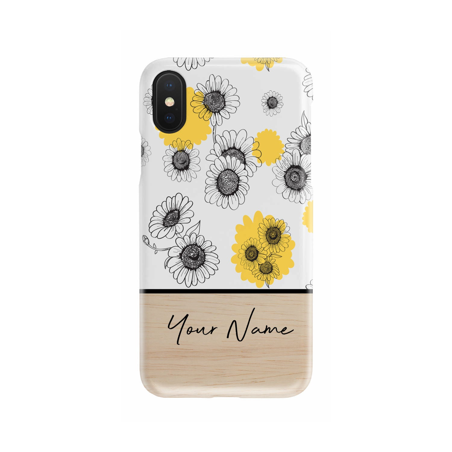 Personalized Flowers Slim Phone Case - phone-cases.ie - Ireland