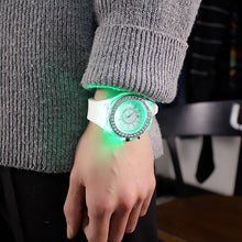 Load image into Gallery viewer, Led Flash Luminous Watch Personality trends students lovers watches