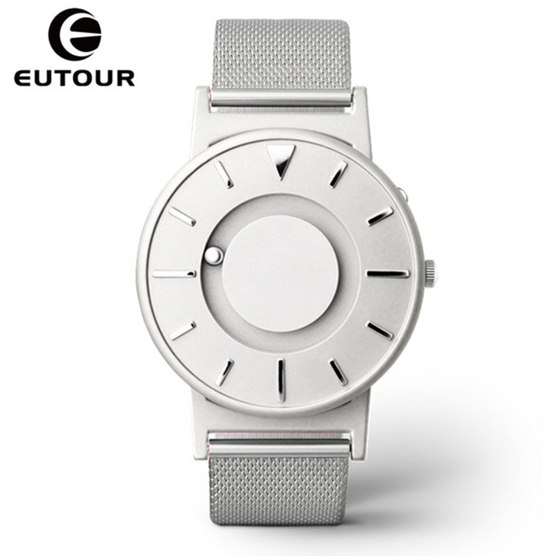 Eutour Magnetic Watch Men Luxury Brand Quartz Women Wrist Watches Stainless Steel