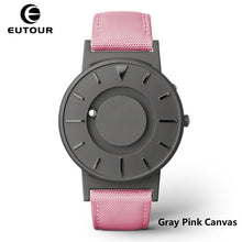 Load image into Gallery viewer, Eutour Magnetic Watch Men Luxury Brand Quartz Women Wrist Watches Stainless Steel