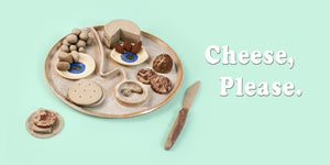 Face Platter, Cheese Platter for serving your preferred hors d'oeuvres