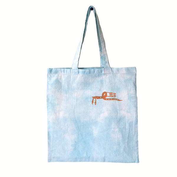 Cloudy Sky Dragon Tote
