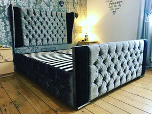 Breanna Winged Bed