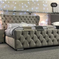 Oxford Wingback Bed
