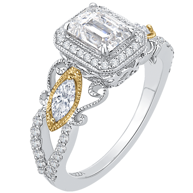 Finding the Perfect Emerald Cut Halo Engagement Rings