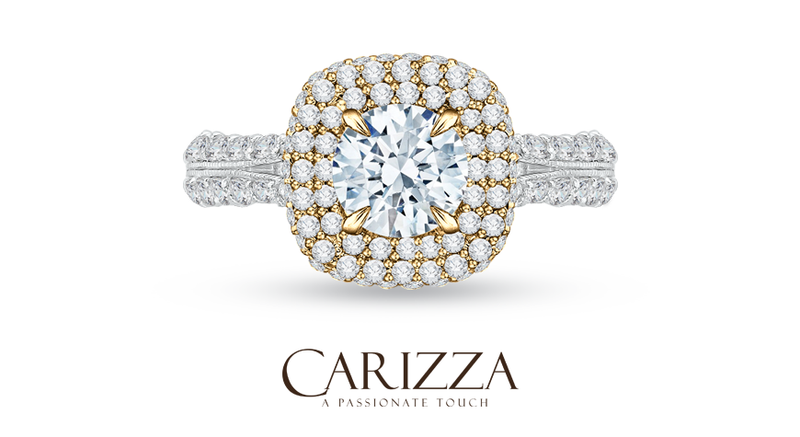 Featured Diamond Rings: Carizza Engagement Ring