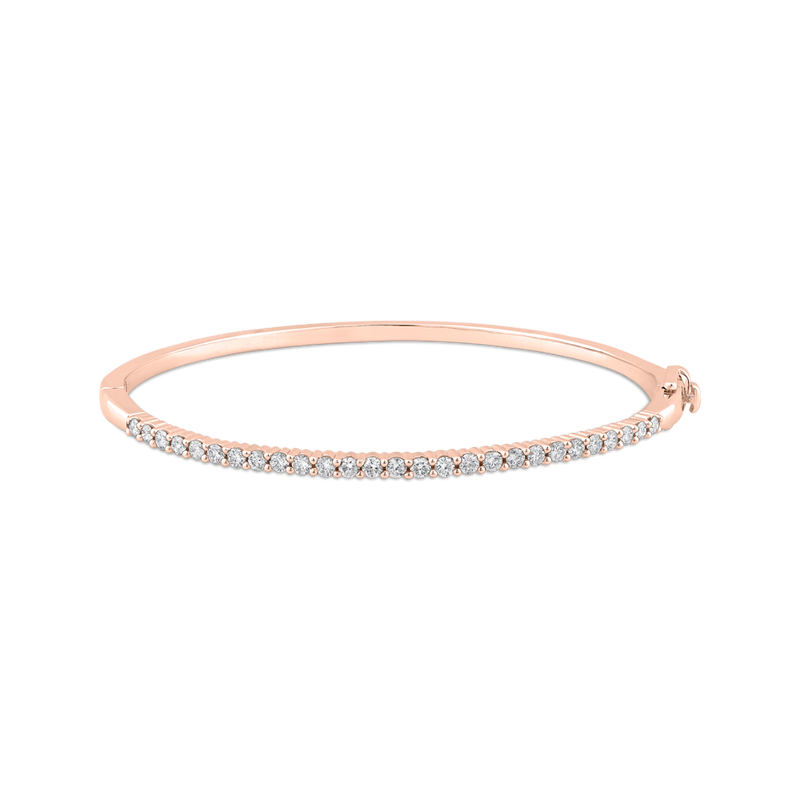 BN0039-02P Fashion Jewelry Carizza Fashion Rose Gold Diamond Bracelets