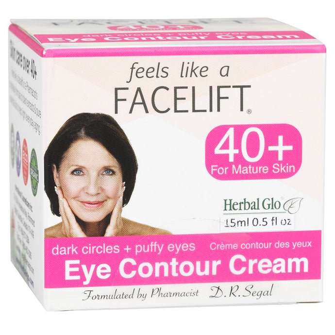 Feels Like a Facelift 40+ Eye Contour Cream - Dark Circle & Puffy Eyes 15ml