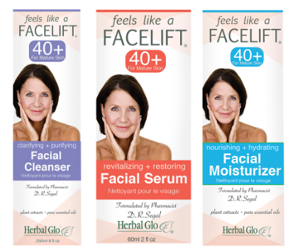 Feels Like A Facelift- Trio: Facial Cleanser, Facial Serum, Facial Moisturizer