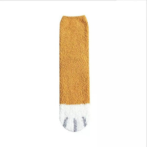 Winter Cat Claws Cute Thick Warm Sleep Floor Sock - Universal Size
