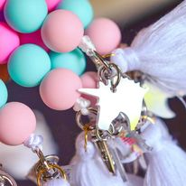 UNICORN SILICONE LANYARDS