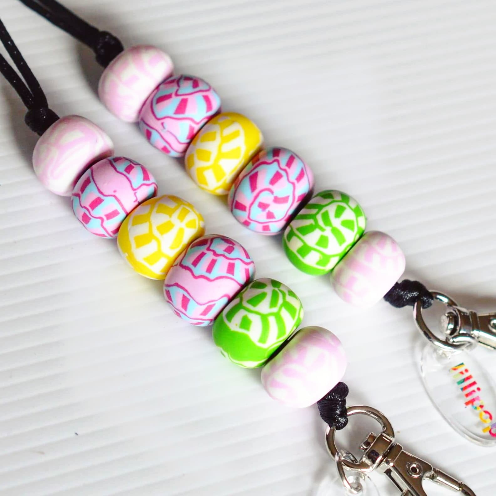 GARDEN PARTY (PINKS) LANYARDS