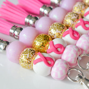 BREAST CANCER AWARENESS KEYCHAINS