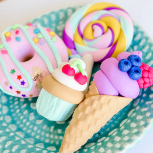 POLYMER CLAY TUTORIAL BUNDLE #1 - SWEETS