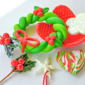 POLYMER CLAY TUTORIAL BUNDLE #2 - CHRISTMAS