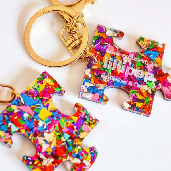 COLOURS OF THE SPECTRUM KEYCHAINS