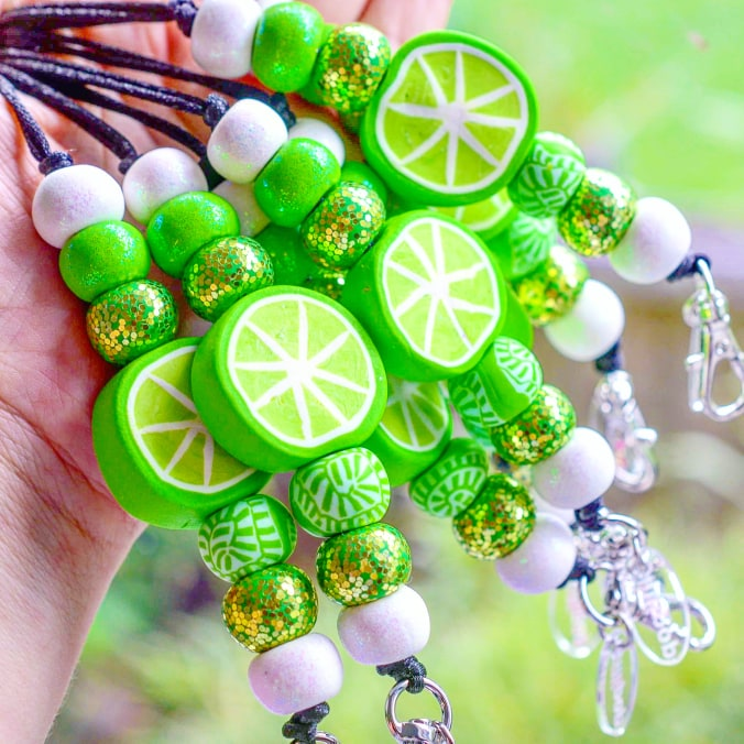 LIME LANYARDS