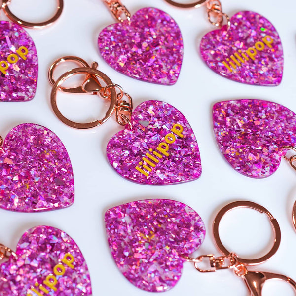 HEART BAG TAG / KEYCHAIN