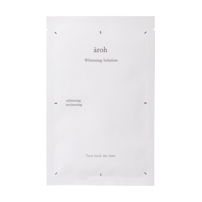 [CLEARANCE] AROH Whitening Solution Mask [1 Sheet]