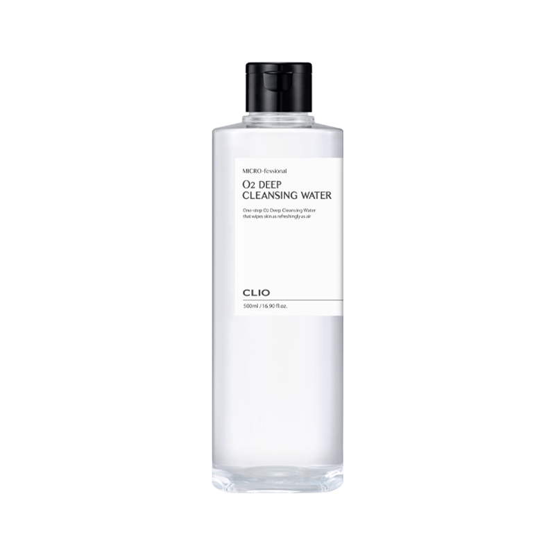 CLIO Micro-fessional O2 Deep Cleansing Water 500ml [EXP: 07/2023]