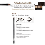 Load image into Gallery viewer, CLIO Pro Play Brow Dual Brush 305