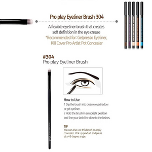 CLIO Pro Play Eyeliner Brush 304