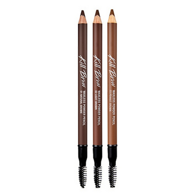 CLIO Kill Brow Waxless Powder Pencil (SHORT EXPIRY 6-11 months) [3 Colors to Choose]