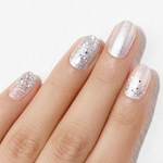 Load image into Gallery viewer, DASHING DIVA Gloss Gel Strip Mani Milky Way GVP301