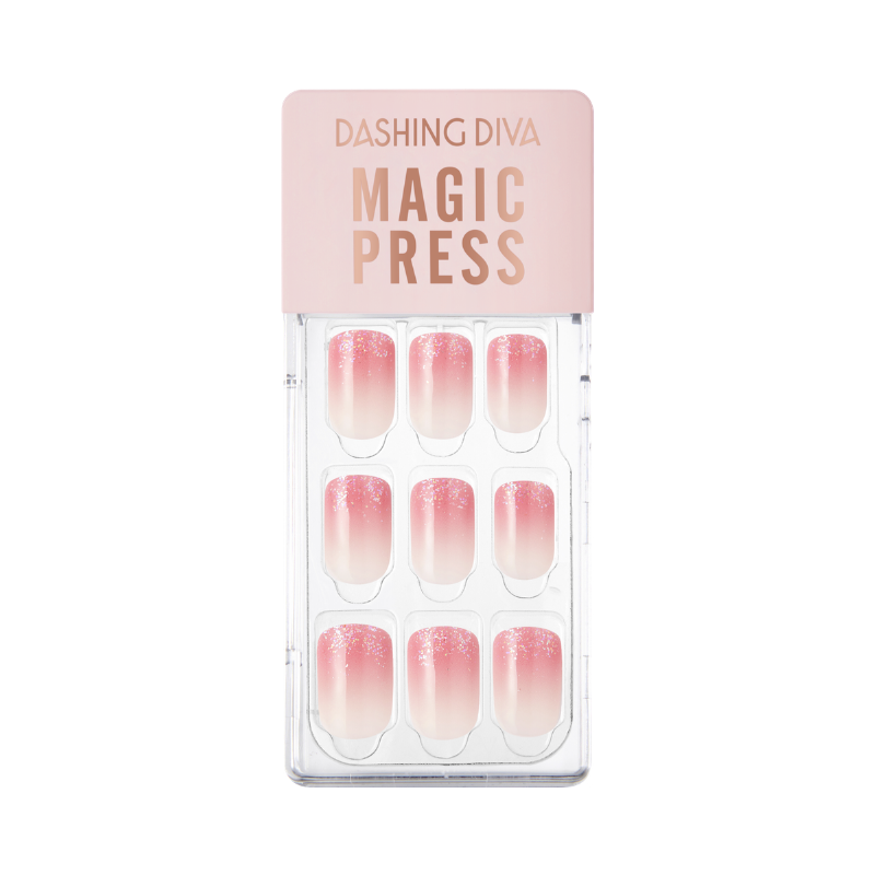 DASHING DIVA Magic Press Gradation Mani Pink Gradation MWK050