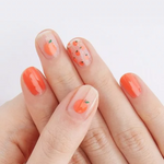 Load image into Gallery viewer, DASHING DIVA Magic Gel Strip Mani Peach Punch GVP65